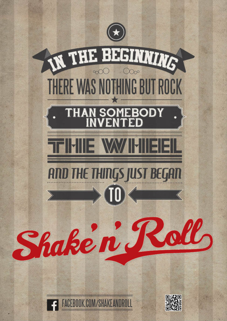 poster shake'n'roll